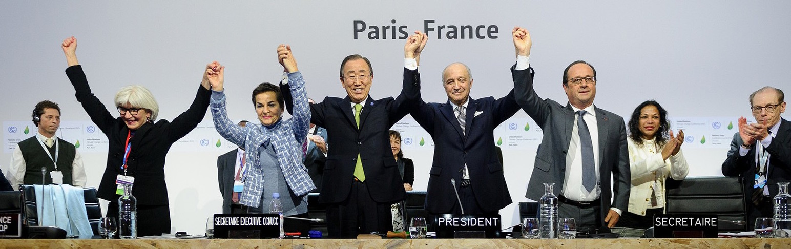Paris Agreement Celebrations