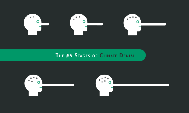 The #5 Stages of Climate Denial