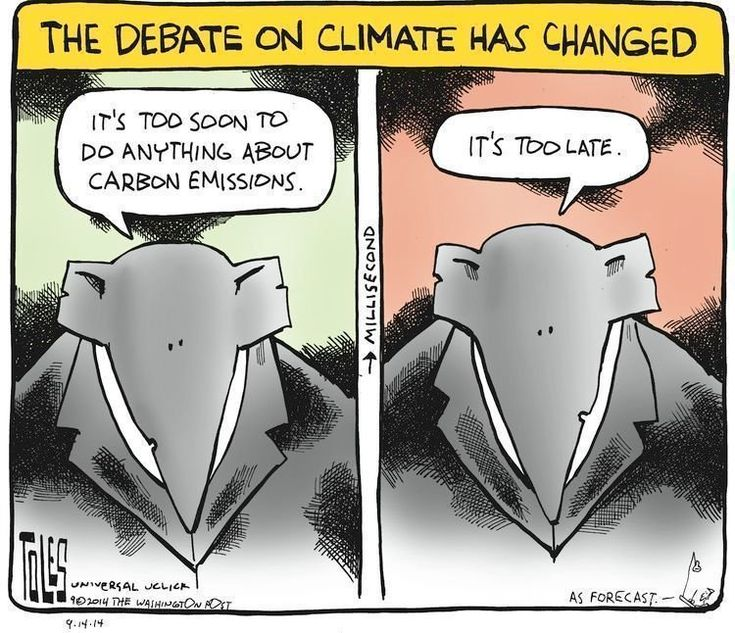the debate on climate change has changed